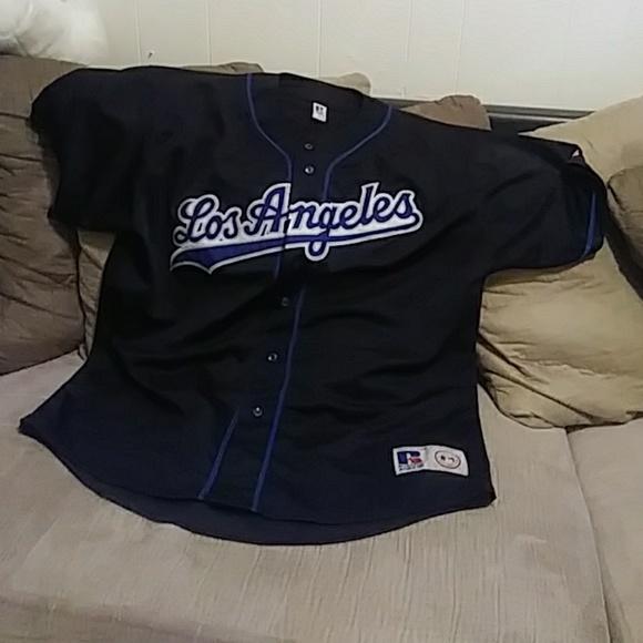 Los Angeles Dodgers black Jersey. M 5b945b26409c1578c20dd557 872c84b164b